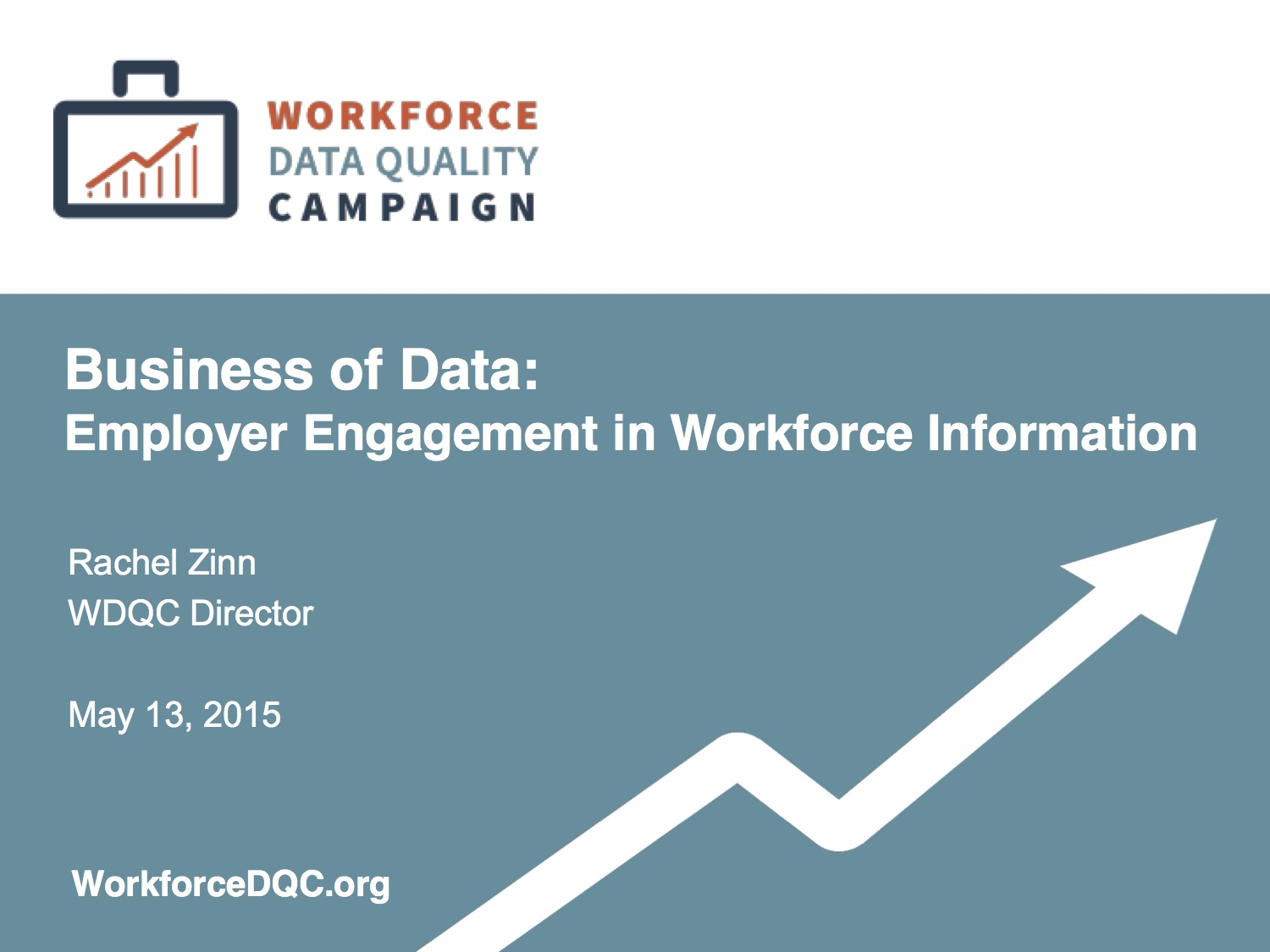 Business of Data: Employer Engagement in Workforce Information